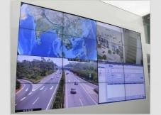 大型市政工程案例定制型广告机