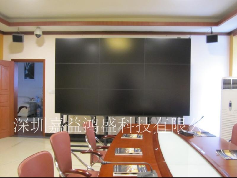 企业会议室的液晶拼接屏项目成功案例